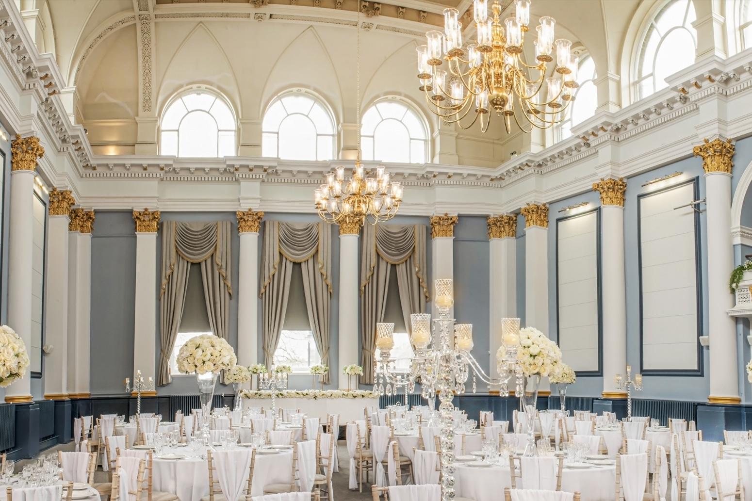 main wedding room